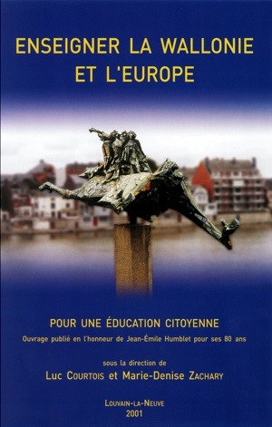 Couverture Enseigner la Wallonie et l'Europe